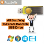 Best Way To Create Bootable USB Drive for Windows 7, 8, 10
